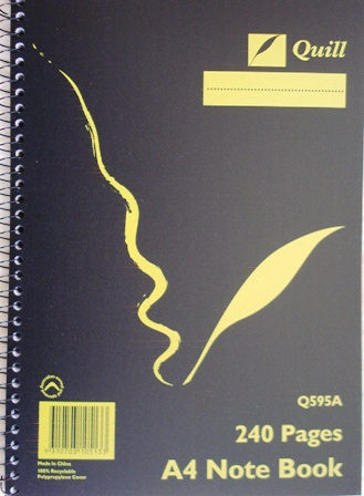 Quill Spiral Bound Note Books