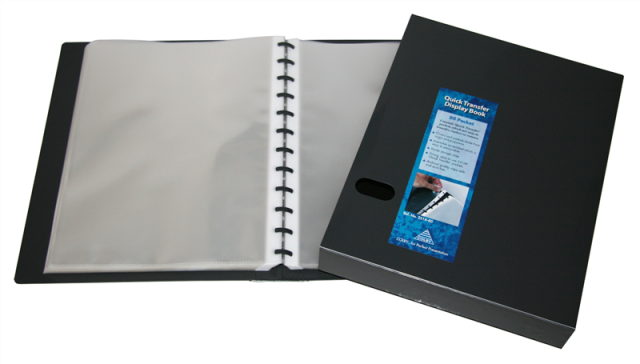 Colby 251A 80 Pocket Refillable Quick Transfer Display Book