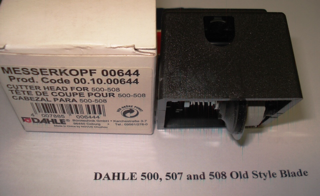Dahle 507/508 Trimmer Spare Blade Head (Old Style) - Free Ship.