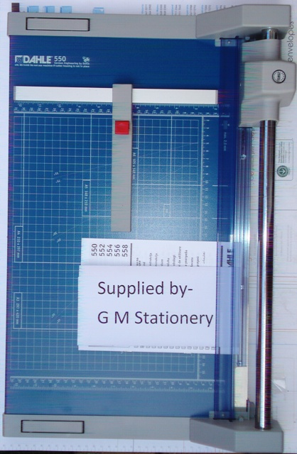 Dahle 550 A4 Rotary Paper Trimmer 360mm Cut 15 sheet 00550-21234