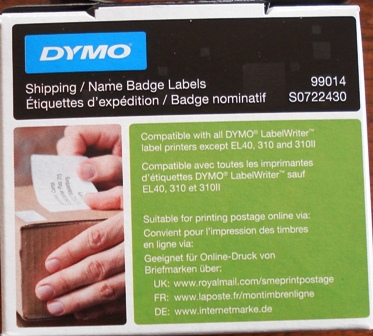 Dymo SD99014 label 101x54mm (S0722430)