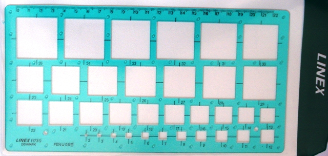 Linex 1173s Square Template - Free Shipping.